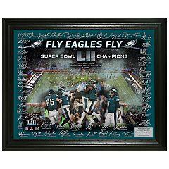 Highland Mint Philadelphia Eagles Super Bowl LII Champions Signature Framed Photo
