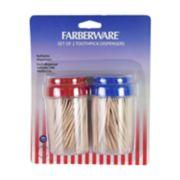 Farberware Classic Toothpick Dispenser 2-pack