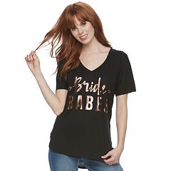 Foiled 'Bride Babes' Tee