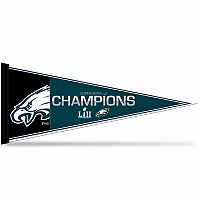Philadelphia Eagles Super Bowl LII Champions Pennant