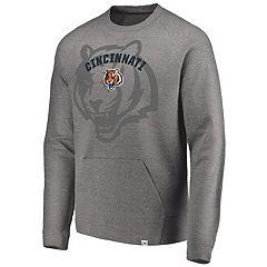 Men's Cincinnati Bengals Flex Logo Fade Sweatshirt
