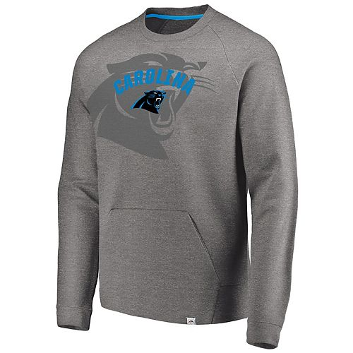 brand new a6ab6 2a427 Men's Carolina Panthers Flex Logo Fade Sweatshirt