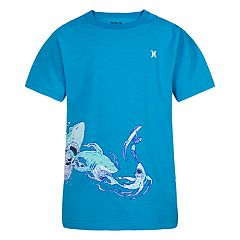 Boys 4-7 Hurley Buffet Sharks Wrap-Around Graphic Tee