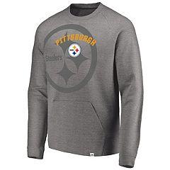 Men's Pittsburgh Steelers Flex Logo Fade Sweatshirt