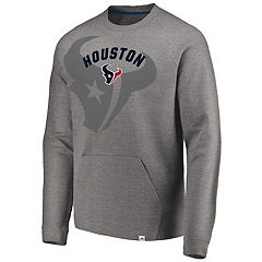 Men's Houston Texans Flex Logo Fade Sweatshirt