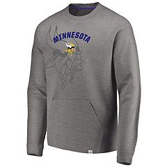 Men's Minnesota Vikings Flex Logo Fade Sweatshirt