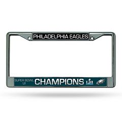 Philadelphia Eagles Super Bowl LII Champions License Plate Frame