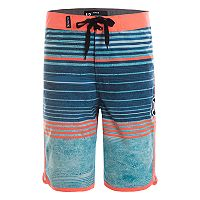 Boys 4-7 Hurley Peter Striped Board Shorts