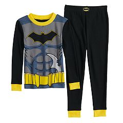 Toddler Boy DC Comics Batman Top & Bottoms Pajama Set