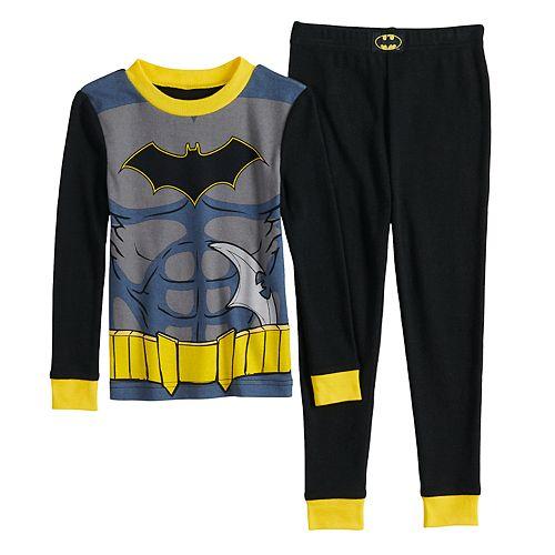 Toddler Boy DC Comics Batman Top & Bottoms Pajama Set