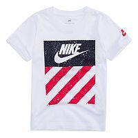 Boys 4-7 Nike Patriotic Reflective Logo Graphic Tee