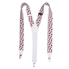 Men's Wembley Rose Print Suspenders