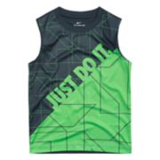 "Boys 4-7 Nike Logo ""Just Do It"" Abstract Muscle Tee"