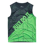 Boys 4-7 Nike Logo 'Just Do It' Abstract Muscle Tee