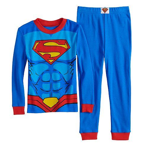 Toddler Boy DC Comics Superman Top & Bottoms Pajama Set