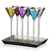 Artland 6-piece Stars Cone Shape Cordial Set with Tray
