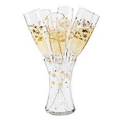 Artland 7-piece Stars Champagne Set