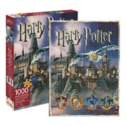 Aquarius Harry Potter Hogwarts 1000-Piece Puzzle