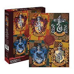 Aquarius Harry Potter House Crests 1000 pc Puzzle