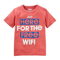 Boys 4-8 OshKosh B'gosh® 'Just Here For The Free Wi-Fi' Graphic Tee