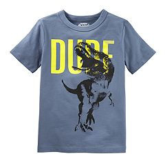 Boys 4-8 OshKosh B'gosh® 'Dude' T-Rex Dinosaur Graphic Tee