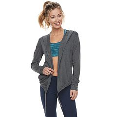 Women's Tek Gear® Hooded Long Sleeve Wrap