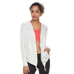 Women's Tek Gear® Hooded Long Sleeve Wrap