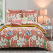 Everrouge Coral Garden 7-piece Duvet Cover Set