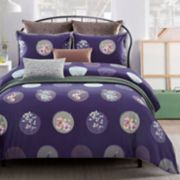 Everrouge Plum Blossom 7-piece Duvet Cover Set