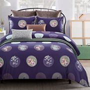 Everrouge Plum Blossom 7 pc Duvet Cover Set