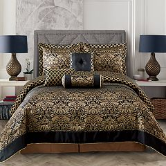 Everrouge Lyon Luxury Jacquard 7-piece Comforter Set