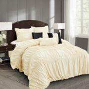 Everrouge Mia All Season Silk Floss 7-piece Comforter Set