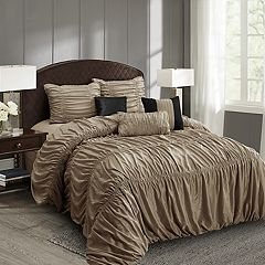 Everrouge Mia All Season Silk Floss 7 pc Comforter Set