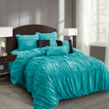Everrouge Mia All Season Silk Floss 7-piece Comforter Set