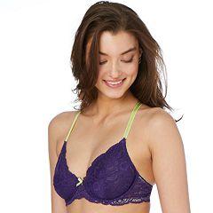 Candie's® Lace Plunge Demi Bra