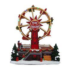 St. Nicholas Square® Village Christmas Ferris Wheel with Motion, Music, & Light