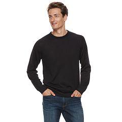Men Apt. 9® Wool-Blend Merino Crewneck Sweater