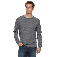 Men Apt. 9® Wool-Blend Merino Crewneck Sweater
