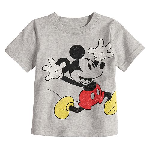 Disney's Mickey Mouse Toddler Boy Heathered Graphic Tee by Jumping Beans®