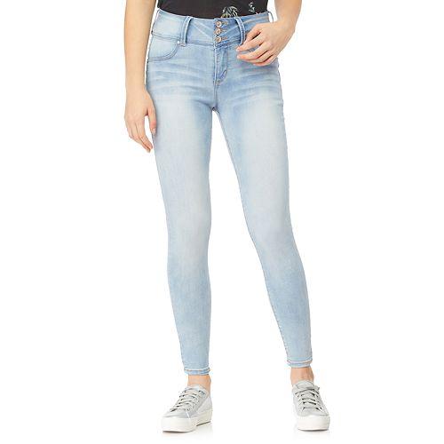 Juniors' WallFlower High-Waisted Sassy Insta Soft™ Skinny Jeans