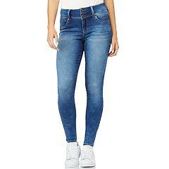 64e2bf35940 Juniors' WallFlower High-Waisted Sassy Insta Soft™ Skinny Jeans