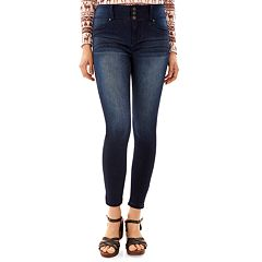 Juniors' Wallflower Sassy Skinny Jeans