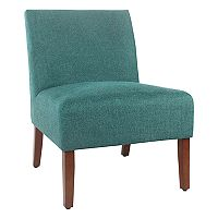 HomePop Carson Solid Armless Accent Chair
