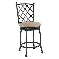 HomePop Tristan Metal Counter Stool