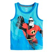 Disney / Pixar The Incredibles 2 Toddler Boy Mr. Incredible Ringer Tank Top by Jumping Beans®