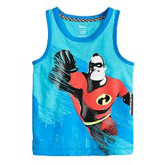 Disney / Pixar The Incredibles II Toddler Boy Mr. Incredible Ringer Tank Top by Jumping Beans®