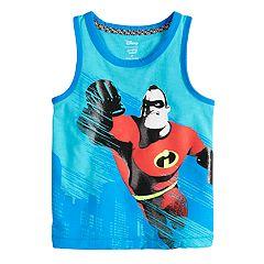 Disney / Pixar The Incredibles 2 Toddler Boy Mr. Incredible Ringer Tank Top by Jumping Beans®