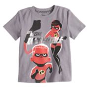 "Disney / Pixar The Incredibles 2 Toddler Boy ""My Mom Is Incredible"" Foiled Graphic Tee by Jumping Beans®"
