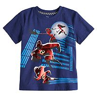Disney / Pixar The Incredibles II Toddler Boy Family Foiled Graphic Tee by Jumping Beans®