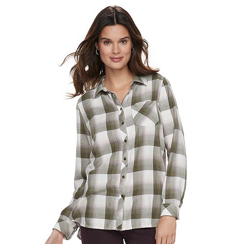 587eb67c71097 Women s SONOMA Goods for Life™ Supersoft Essential Shirt
